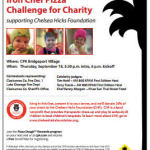 Iron Chef Pizza Challenge for Charity <br>Sept. 18 at CPK Bridgeport