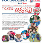 Tickets Fore Charity – Aug. 25-28, 2016 – Buy tickets now!