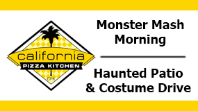 2016 CPK Events – Monster Mash Morning & Haunted Patio Costume Drive